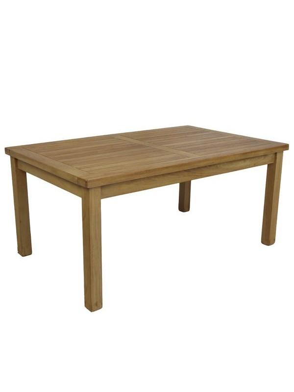 Mesa de teca de centro 90x45x45cm muebles jardin - Mesa de teca ...