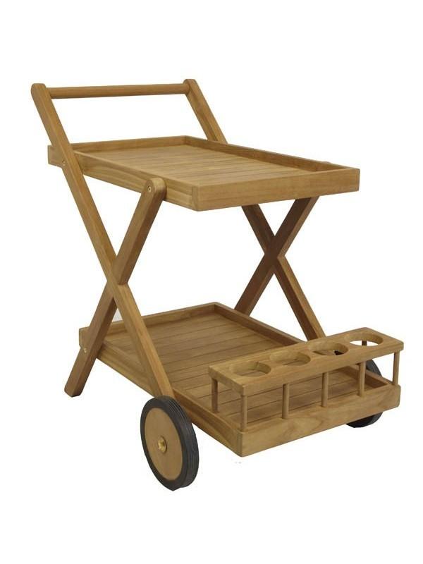 Carro bar de teca muebles jardin maquinaria jardin for Jardin industrial