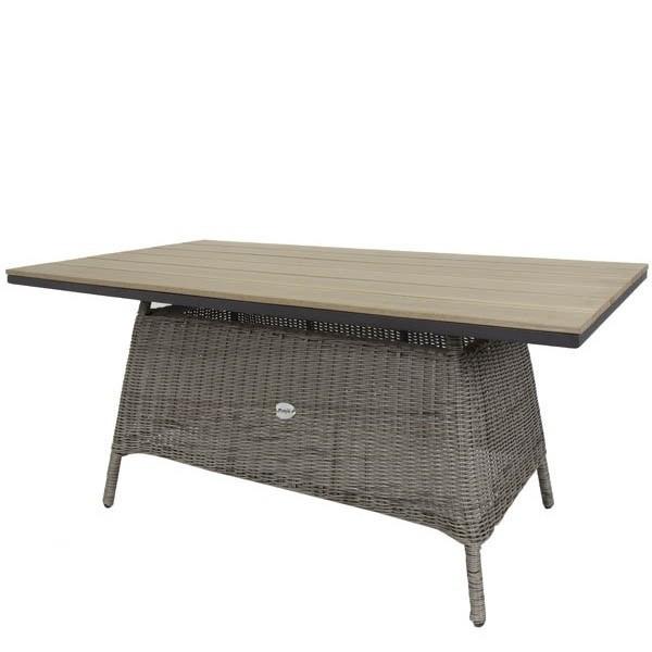 Mesa fibra sint tica elba muebles jardin maquinaria - Muebles fibra sintetica ...